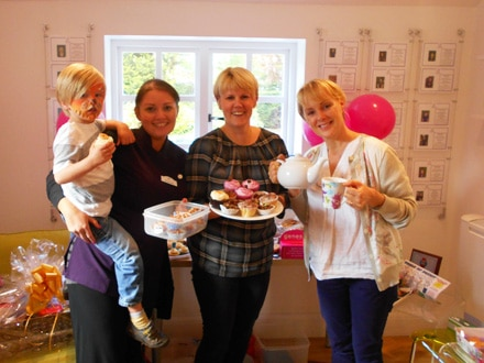 breast cancer charity events – coffee morning event