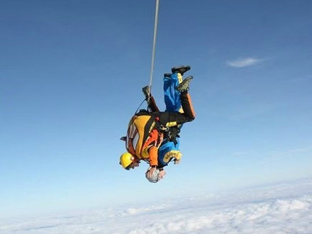 charity sky dive Prevent Breast Cancer fundraising