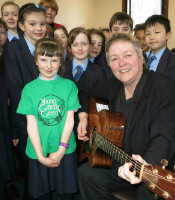 claire mooney with prep choir