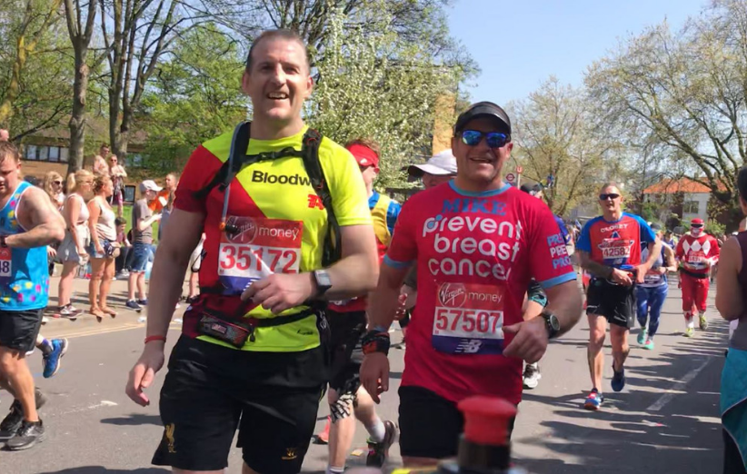 London Marathon Prevent Breast Cancer Charity UK