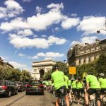 Cycle for charity London to Paris Prevent Breast Cancer