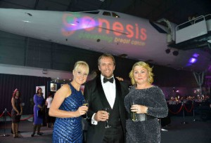 Attending the Skyball 2013