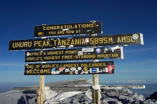 Mount Kilimanjaro Prevent Breast Cancer charity trek