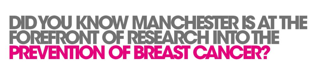 Did you know Manchester is at the forefront of research into the prevention of breast cancer?