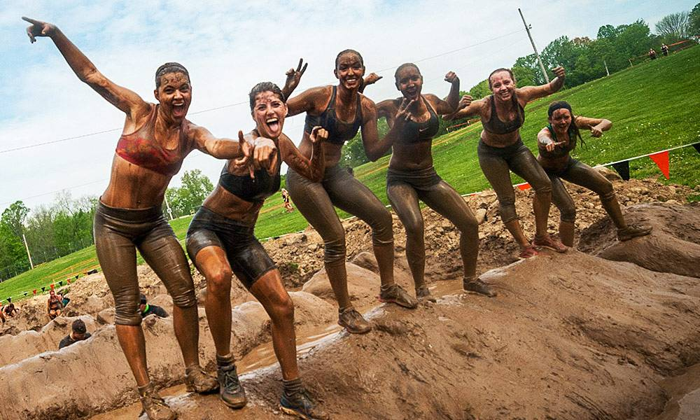 Tough Mudder Prevent Breast Cancer charity obstacle course