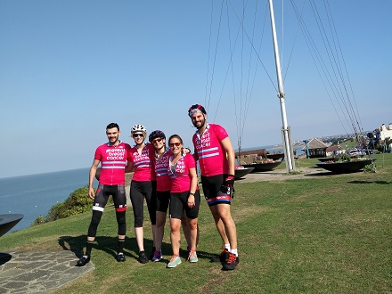 Breast Cancer Cycling Event