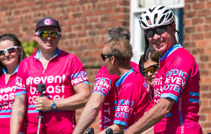 Prudential Ride London 100 Prevent Breast Cancer Charity UK