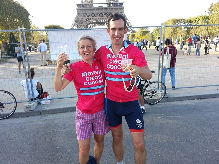 London 2 Paris, Michelle Harvie, James Harvey
