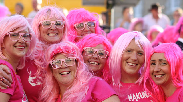 Lymm's Pink Night Out Prevent Breast Cancer Charity UK