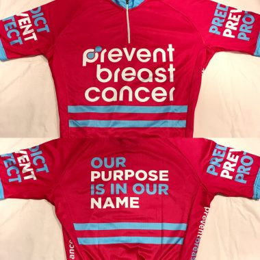 Prevent Breast Cancer Cycling Top