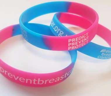 Gel Wristbands Charity Prevent Breast Cancer UK