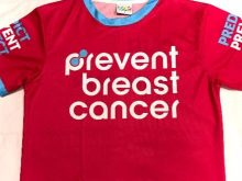 Prevent Breast Cancer Running T-Shirt
