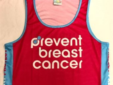 Prevent Breast Cancer Running Vest