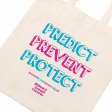 Canvas Tote Bag Prevent Breast Cancer Predict Prevent Protect