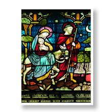 Mary & Joseph Christmas Card Prevent Breast Cancer Charity UK
