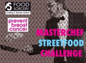 Masterchef Streetfood Challenge Prevent Breast Cancer Charity Event UK