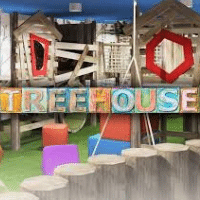 Treehouse Play Paint Altrincham Pink Prevent Breast Cancer Charity UK