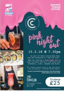 Pink Night Out at Con Club