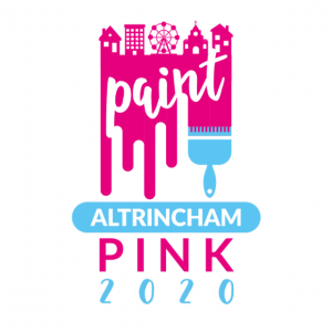 Paint Altrincham Pink 2019 Prevent Breast Cancer Charity UK