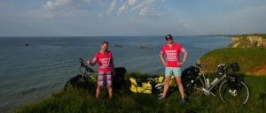 Chris & Gabs world cycling tour prevent breast cancer
