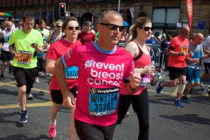 Great North Run Image Prevent Breast Cancer Charity