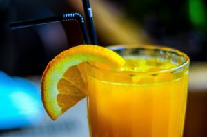 Orange juice stay hydrated Prevent Breast Cancer Charity UK