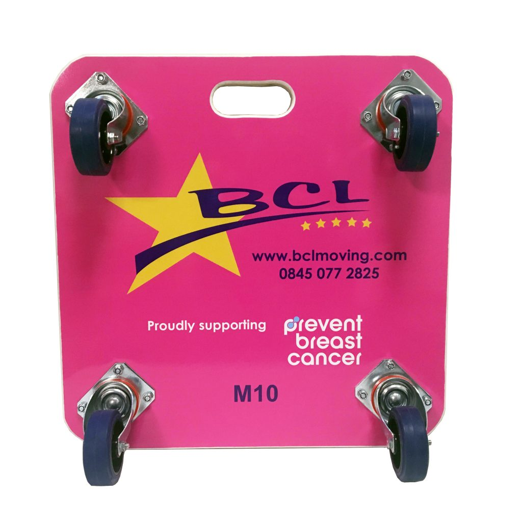 Evo Supplies BCL Moving Pink Furniture Skate Prevent Breast Cancer