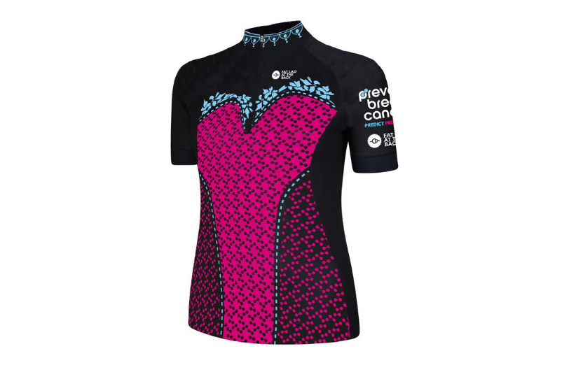 Prevent Breast Cancer Fat Lad at the Back Corset Jersey