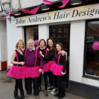 John Andrews Hair Design Prevent Breast Cancer Charity UK