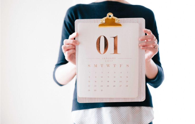 New Years Resolutions Prevent Breast Cancer Charity 2019