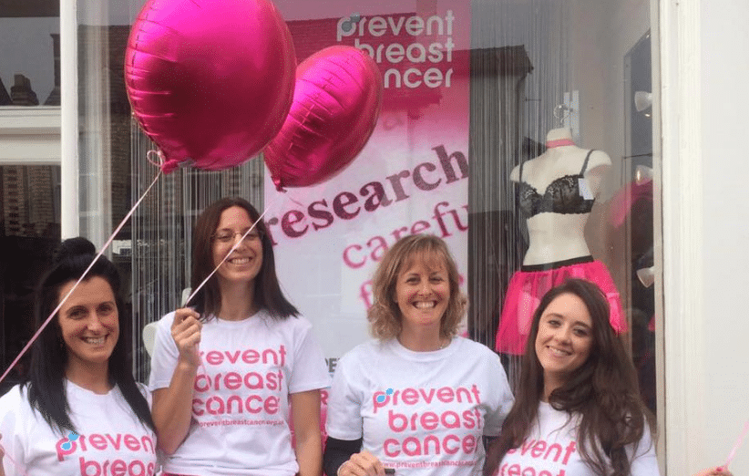 Paint Hale Pink Prevent Breast Cancer Charity UK