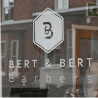 Bert & Bert Barbers Prevent Breast Cancer Paint Altrincham Pink