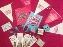 Paint Towns Pink Bunting Pack Prevent Breast Cancer Charity UK