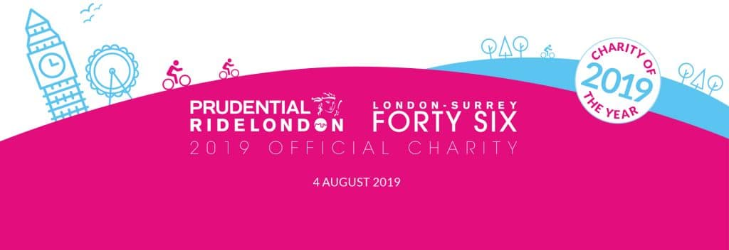 Prudential RideLondon-Surrey 46 Prevent Breast Cancer Charity of the Year
