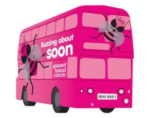 BooBee Bus Prevent Breast Cancer Charity UK