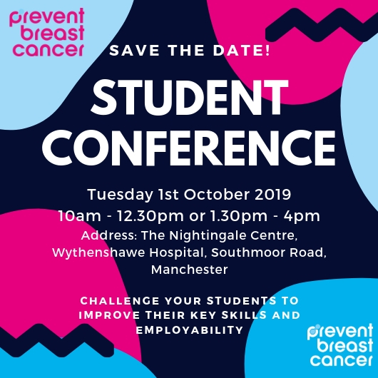 Student Conference Prevent Breast Cancer Charity UK