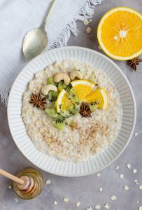 Porridge Cycling Challenge Nutrition Prevent Breast Cancer