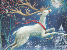 Stags and Swans Prevent Breast Cancer Charity Christmas Cards