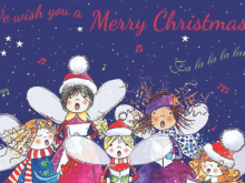 Fairy Choir Prevent Breast Cancer Charity Christmas Cards