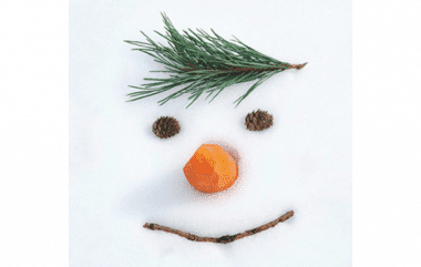Snowman in the Snow Prevent Breast Cancer Christmas Cards