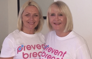 Paint Gatley Pink Prevent Breast Cancer Charity UK