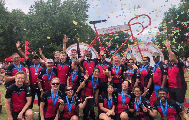 Prudential RideLondon-Surrey Prevent Breast Cancer Charity UK