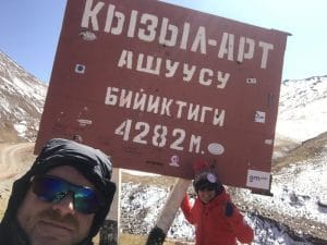 Altitude on the Pamir Highway