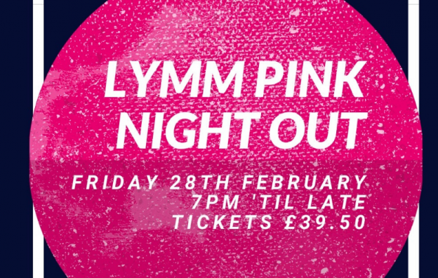 Lymm Pink Night Out 2020 Prevent Breast Cancer Charity UK
