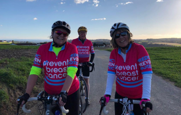 Vienna to Budapest Cycle Challenge Prevent Breast Cancer Charity UK