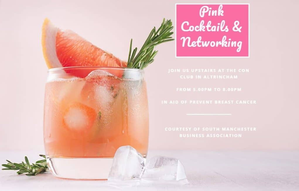 SMBA Paint Altrincham Pink Networking Prevent Breast Cancer Charity UK