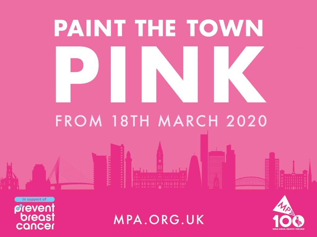 Paint the Town Pink Prevent Breast Cancer Charity UK