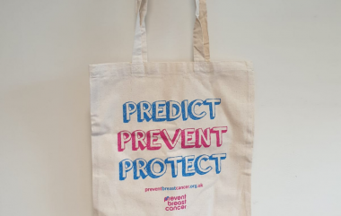 Canvas Tote Bag Prevent Breast Cancer Merchandise