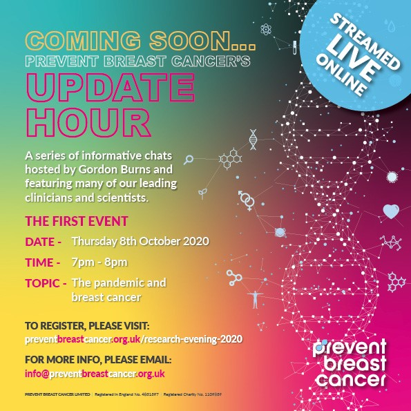 Update Hour Prevent Breast Cancer Charity UK