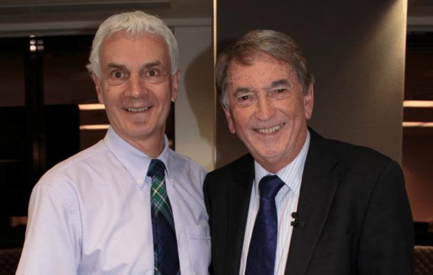 Gordon Burns Patron Interview Prevent Breast Cancer Charity UK